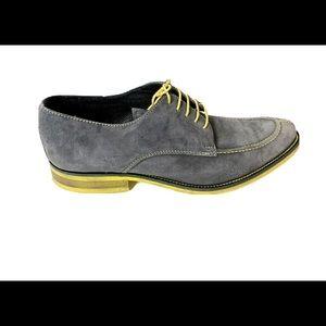 Donald J. Pliner Etie Lace Up Suede Leather Shoes
